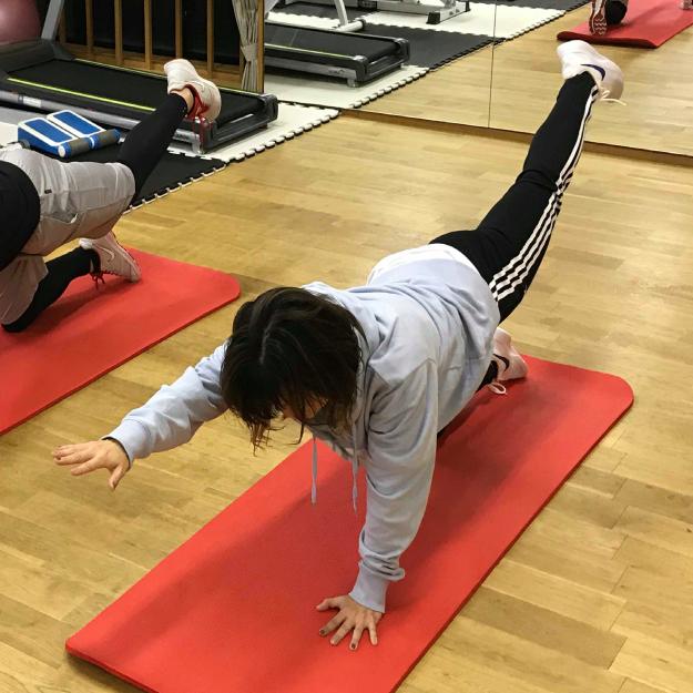 体幹トレーニング画像